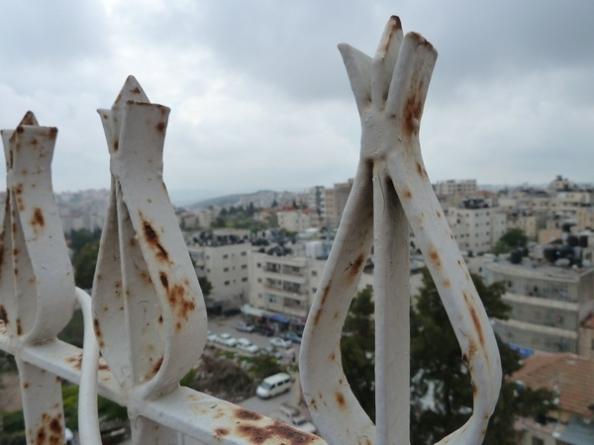 Ramallah fra tagterasse
