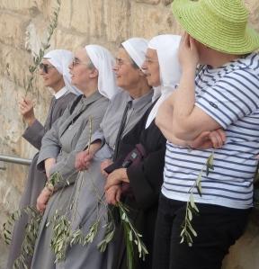 Nonner med palmer