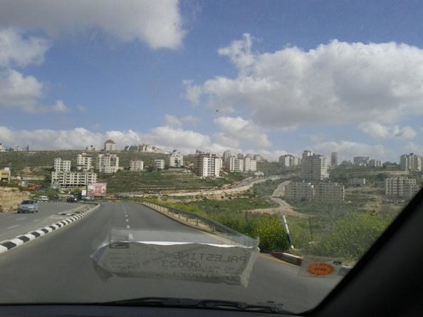 Ramallah fra bilrude