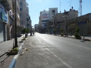 Ramallah under Ramadanen 2011
