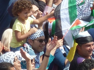 Ramallah celebrates UN bid September 21, 2011