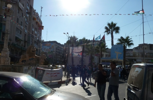 FN-stol i Ramallah