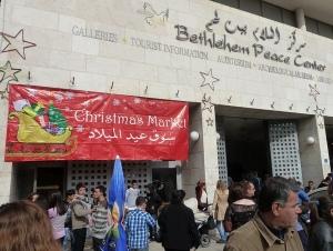 Julemarked i Bethlehem