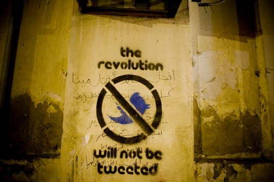 Revolution will not be tweeted